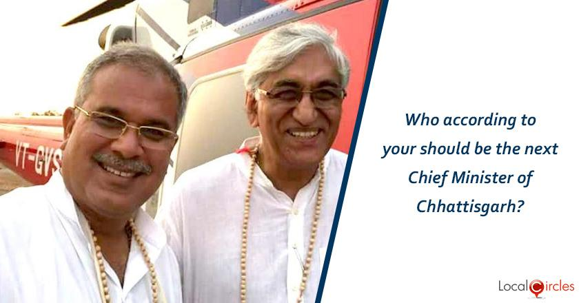 Who according to your should be the next Chief Minister of Chhattisgarh?