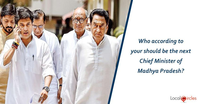 Who according to your should be the next Chief Minister of Madhya Pradesh?