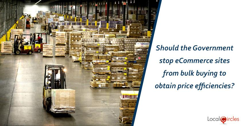 Making eCommerce work better for consumers: Should the Government stop eCommerce sites from bulk buying to obtain price efficiencies?