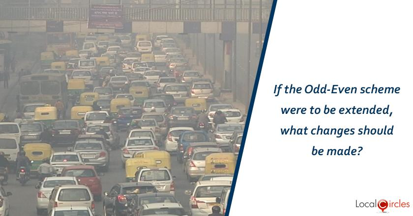 If the Odd-Even scheme were to be extended, what changes should be made?