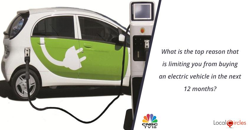 What is the top reason that is limiting you from buying an electric vehicle in the next 12 months?