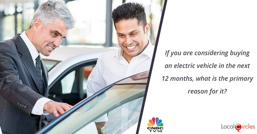 If you are considering buying an electric vehicle in the next 12 months, what is the primary reason for it?