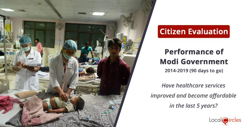 Healthcare services under Modi Government: Have healthcare services improved and become affordable in the last 5 years?