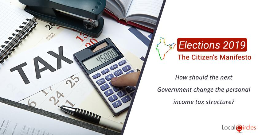 Citizen Oriented Manifesto 2019: How should the next Government change the personal income tax structure?