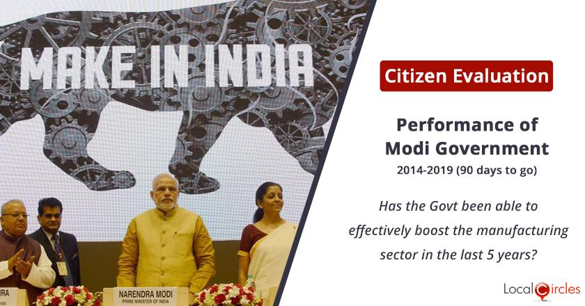 Make in India under Modi Government: Has the Government been able to effectively boost the manufacturing sector in the last 5 years?