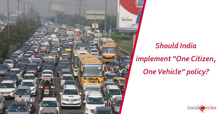 To reduce traffic and pollution, should India implement