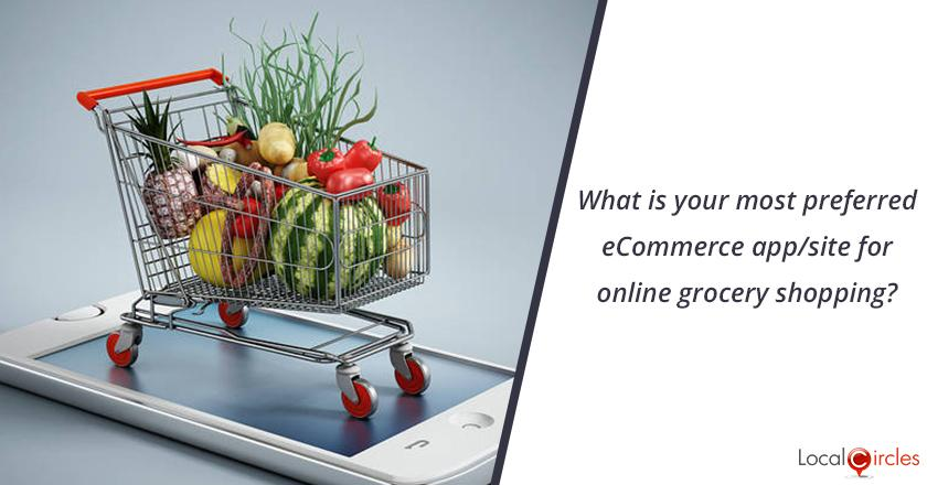 What is your most preferred eCommerce app/site for online grocery shopping?