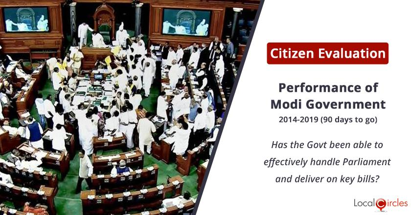 Parliament functioning under Modi Government: Has the Government been able to effectively handle Parliament and deliver on key bills in the last 5 years?