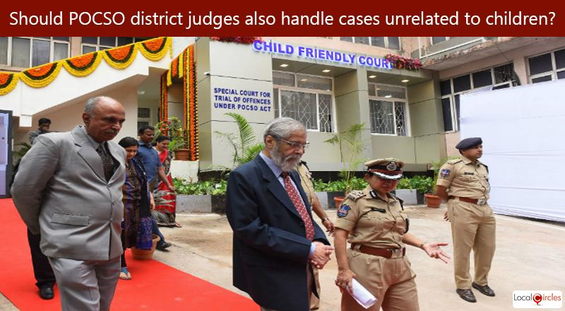 Currently POCSO judges in district courts also handle other cases (outside child rape or child abuse and unrelated to children) thereby leading to delays in POCSO cases. What should be done to resolve this?