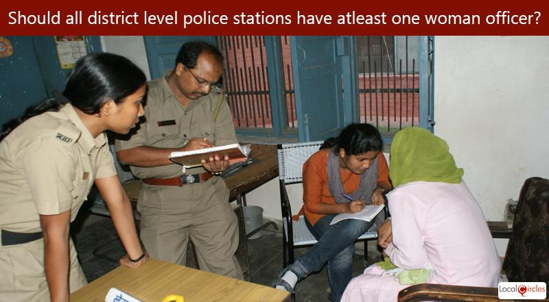 Will ensuring that there is atleast one woman police officer in every district level police station help in timely registration of FIRs in cases of child rape?