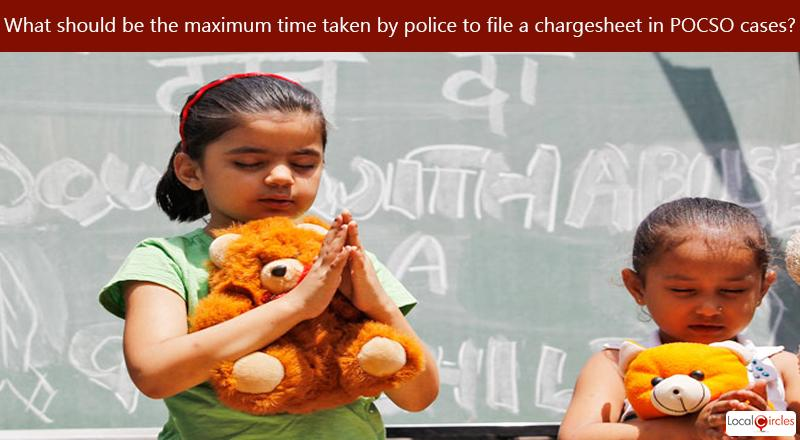 What should be the maximum time taken by police to file a chargesheet in cases of child rape?