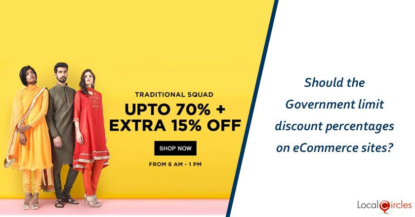 Making eCommerce work better for consumers: Should the Government limit discount percentages on eCommerce sites?