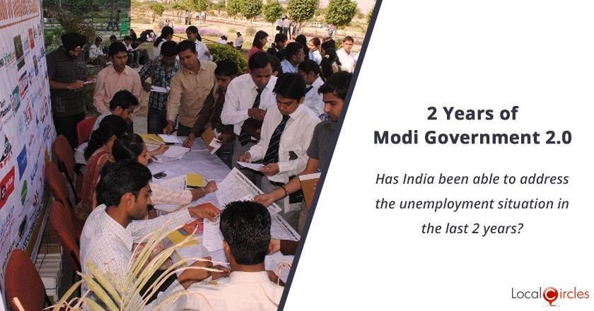 2 years of Modi Government 2.0: Has India been able to address the unemployment situation in the last 2 years?
