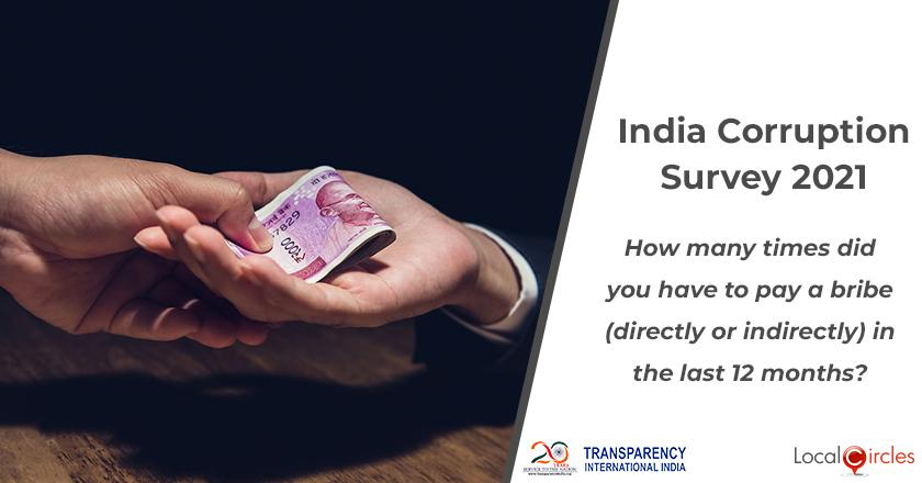 How many times did you have to pay a bribe (directly or indirectly) in the last 12 months?