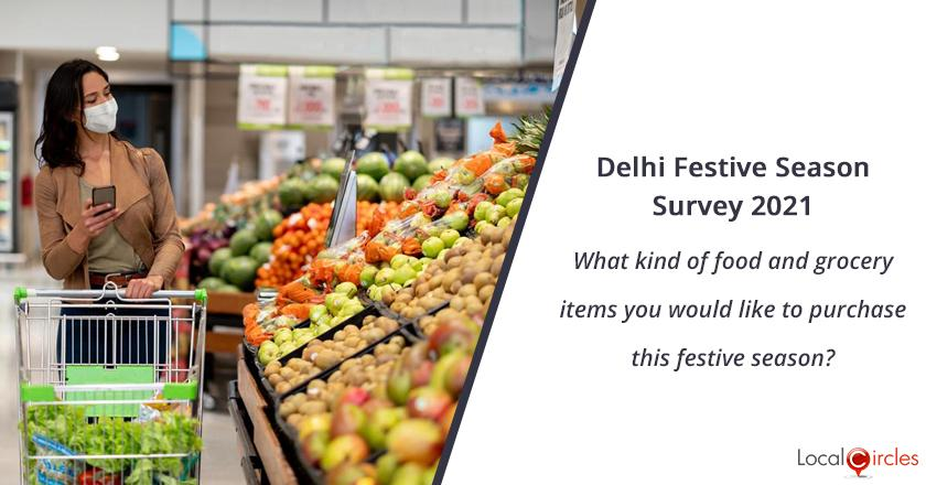 What kind of food and grocery items you would like to purchase this festive season?