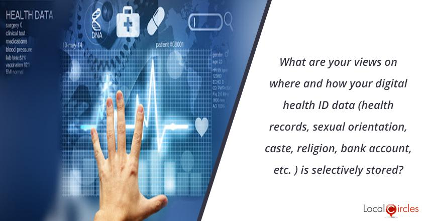 The Government in its draft National Health Data Management Policy which proposes to create a digital health ID for citizens will be storing your data (personal health records, sexual orientation, caste, religion, bank account, debit card and other related information) selectively at three levels i.e. central, state or UT and at the health facility level. How do you feel this should be done?