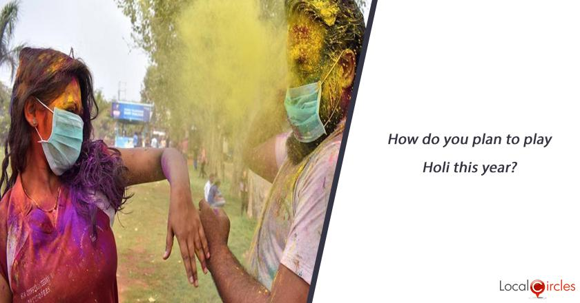 How do you plan to play Holi this year?