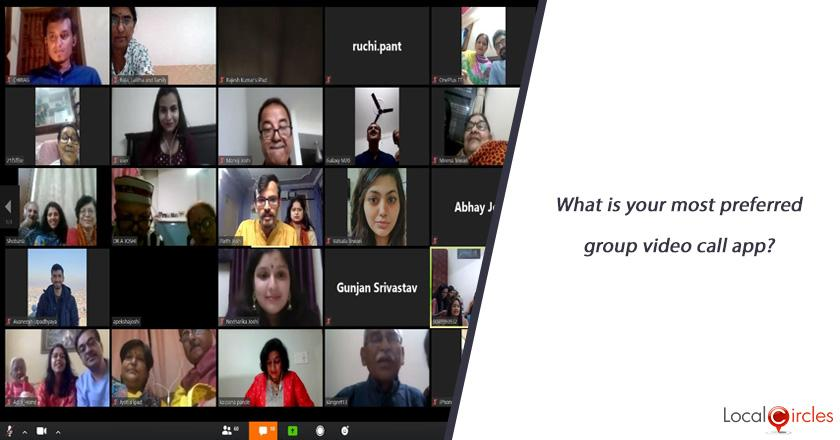 What is your most preferred group video call app?