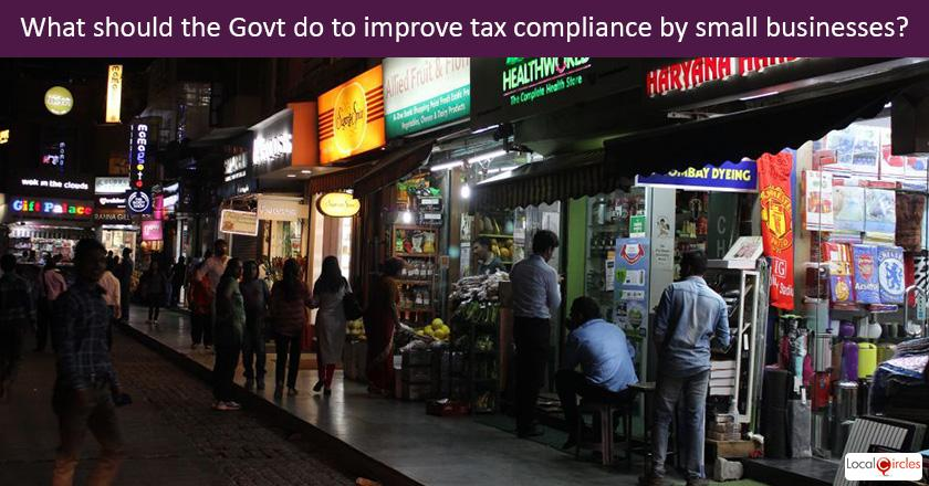 Budget 2018: To improve tax compliance by millions of traders/small retailers across the country, what should be done by the Government along with stronger enforcement? <br/> <br/>Additional Info: Currently businesses with annual revenue up to INR 50 crores are taxed at 25% and no surcharge is applicable if profit is under INR 1 crore.
