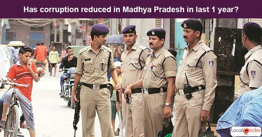 Madhya Pradesh Corruption Poll: What is your experience or perception of bribery and corruption in Madhya Pradesh in the last one year?