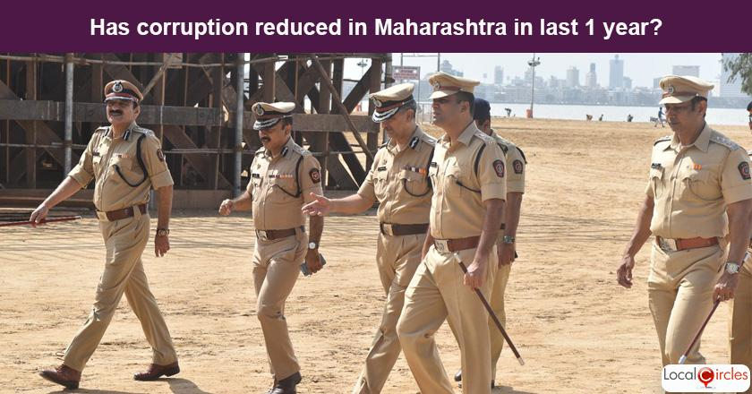 Maharashtra Corruption Poll: What is your experience or perception of bribery and corruption in Maharashtra in the last one year?