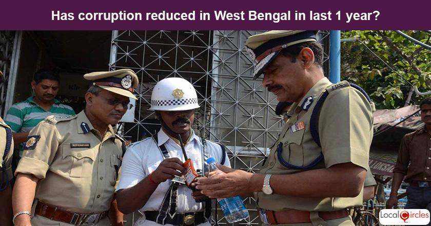West Bengal Corruption Poll: What is your experience or perception of bribery and corruption in West Bengal in the last one year?
