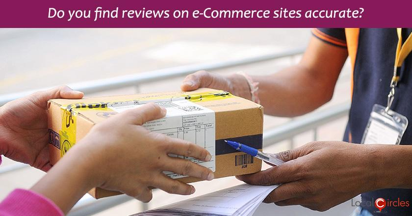 Have you experienced significant variation between a product review on eCommerce site and the actual product received?