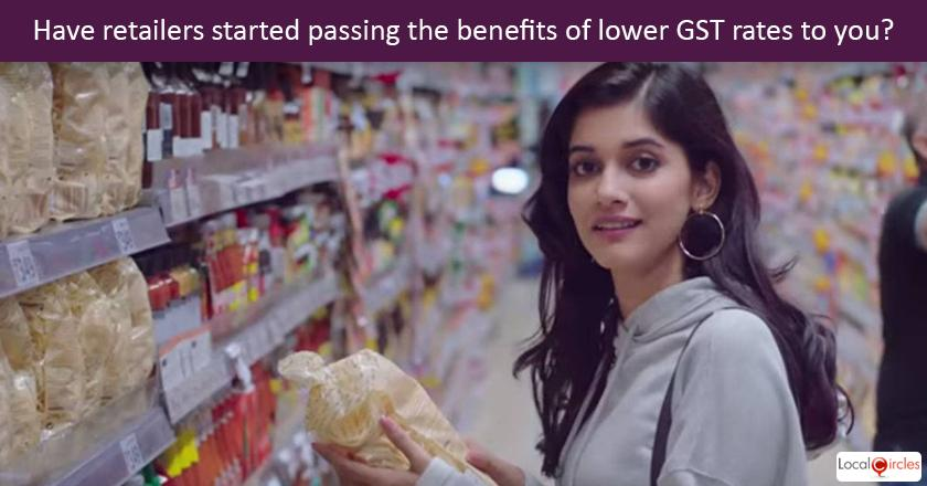 GST benefits reaching the consumer: After the reduction in GST with over 170 items moved from 28% to lower GST rates, what was your experience when shopping at retail stores last weekend?