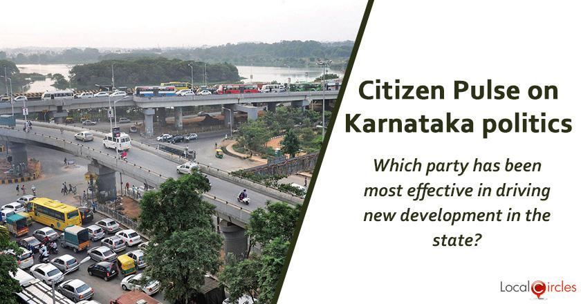 Q3. Which party has been most effective in driving new development in the state?