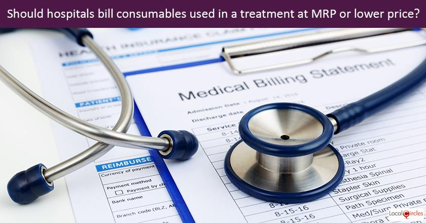 Making Healthcare Consumer Oriented: How should all consumables used for a patient be billed by the hospitals?