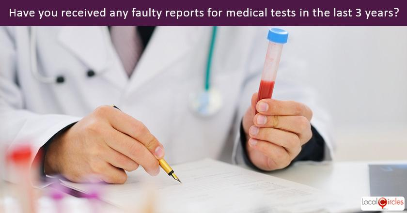 Trust in Pathology Lab: How many cases have you had in the last three years where the pathology report for you or a family member was wrong?
