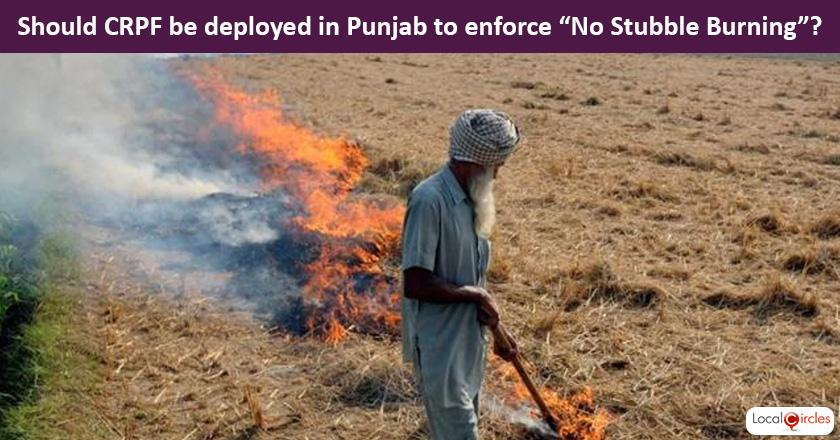 Deadly Air Crisis: Should CRPF (Central Reserve Police Force) be deployed in Punjab to enforce