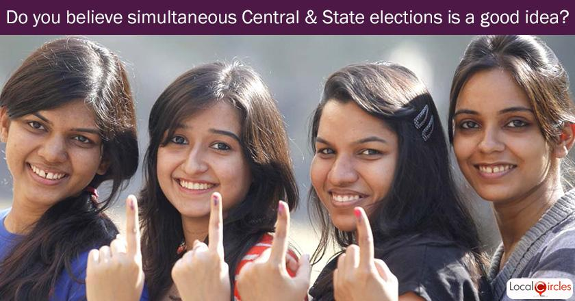 Do you believe holding simultaneous central and state elections is a good idea?