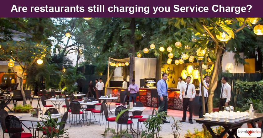 When you visited air conditioned restaurants in the last one month, what was your general experience with Service Charge?