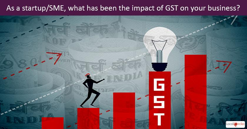 Startup Pulse - As a startup/SME, what has been the impact of GST on your business?