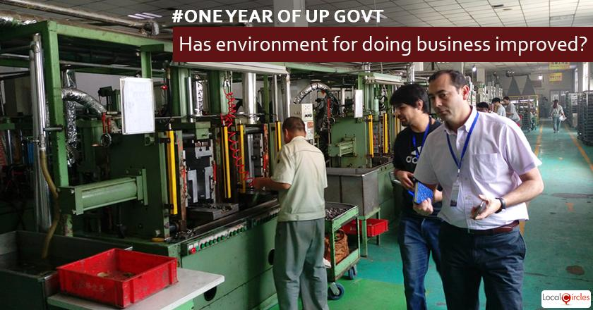 1 year of UP Government: How has the environment for doing business in Uttar Pradesh improved in the last 1 year?