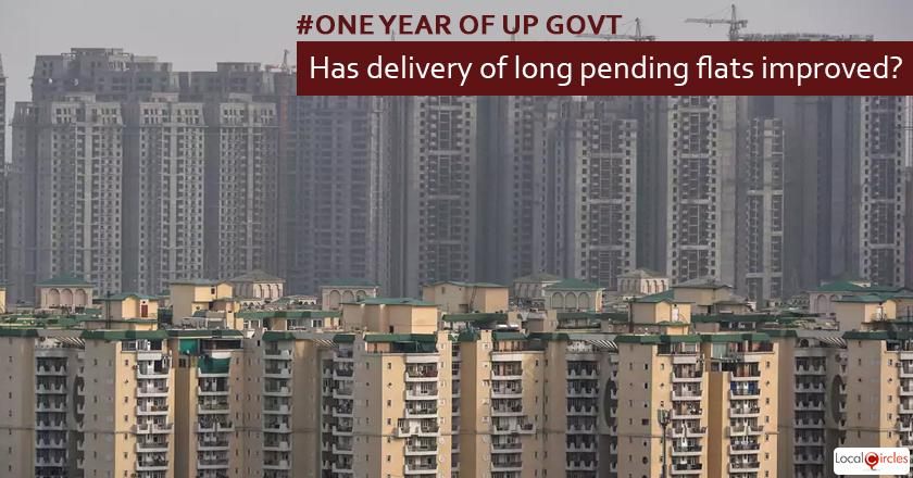 1 year of UP Government: How has delivery of long pending flats by builders and implementation of RERA improved in Uttar Pradesh in the last 1 year?