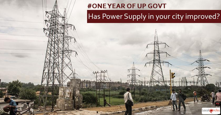 1 year of UP Government: How do you rate improvement in power supply in your area in the last 1 year? Kindly consider key parameters as availability and affordability.