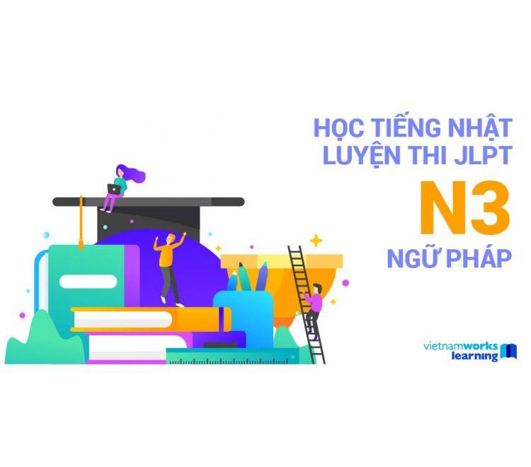 Học Tiếng Nhật - Luyện Thi JLPT N3 Ngữ Pháp