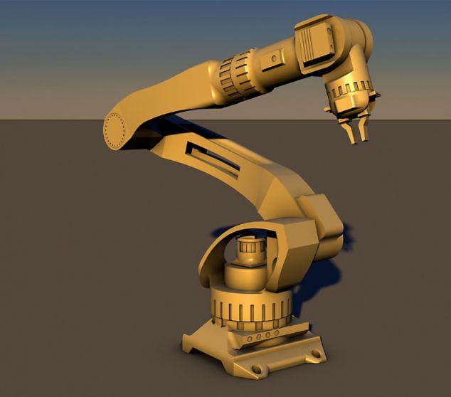 Chế Tạo Cánh Tay Robot Điều Khiển Bằng Máy Tính
