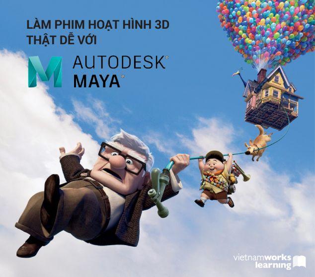 Làm Phim Hoạt Hình 3D Thật Dễ Với Autodesk MAYA