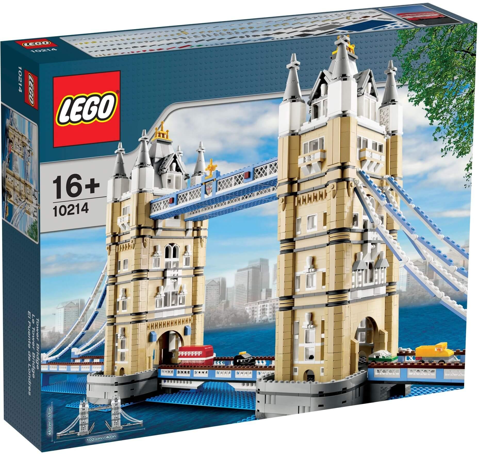 Mua đồ chơi LEGO 10214 - LEGO Creator Expert 10214 - Cầu Tháp Luân Đôn (LEGO Creator Expert London Tower Bridge 10214)