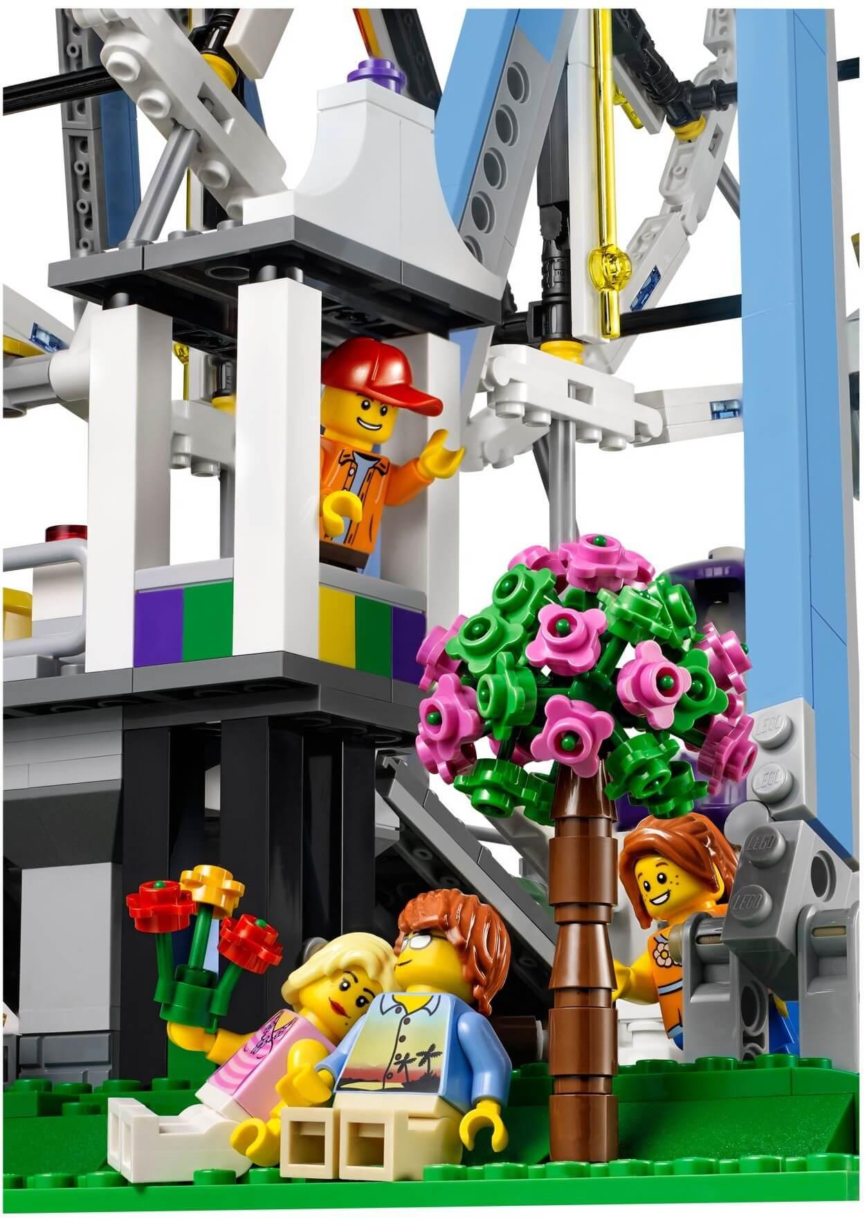 Mua đồ chơi LEGO 10247 - LEGO Creator Expert 10247 - Mô hình cao cấp Vòng đu quay giải trí Khổng lồ (LEGO Creator Expert Ferris Wheel 10247)