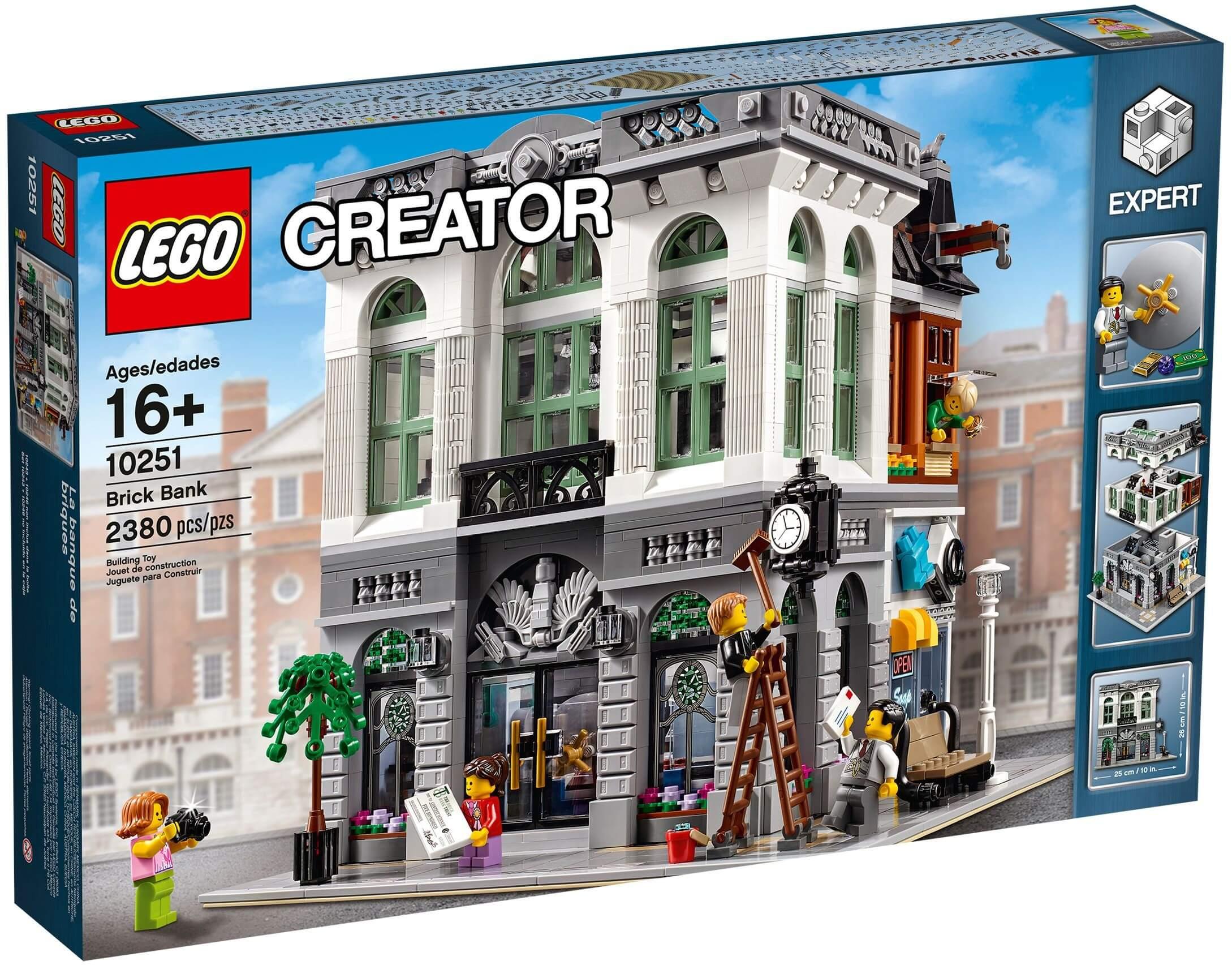 Mua đồ chơi LEGO 10251 - LEGO Creator Expert 10251 - Mô hình cao cấp Ngân Hàng (LEGO Creator Brick Bank 10251)