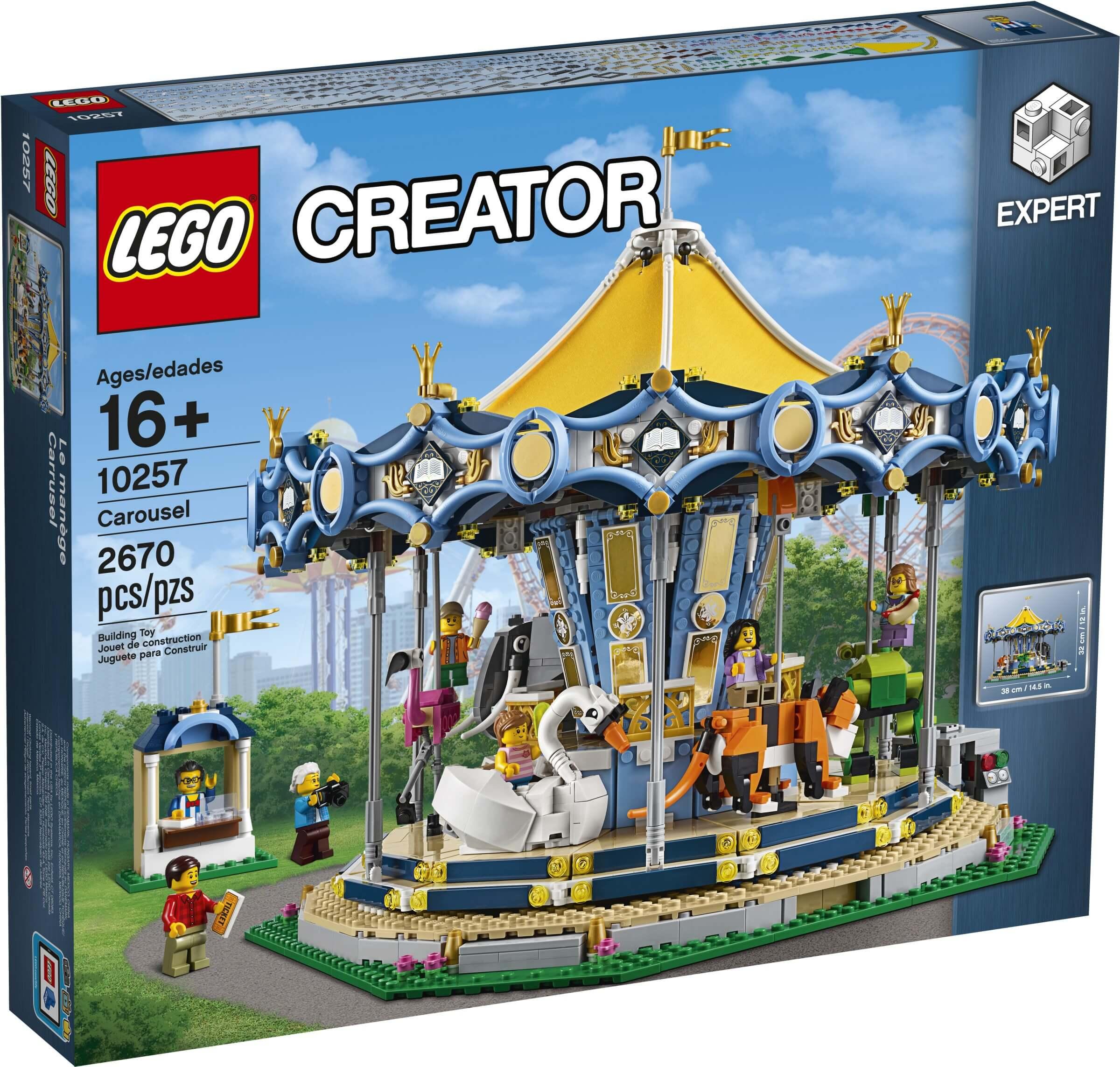 Mua đồ chơi LEGO 10257 - LEGO Creator 10257 - Vòng Quay Thú Nhún Khổng Lồ (LEGO Creator Expert Carousel)