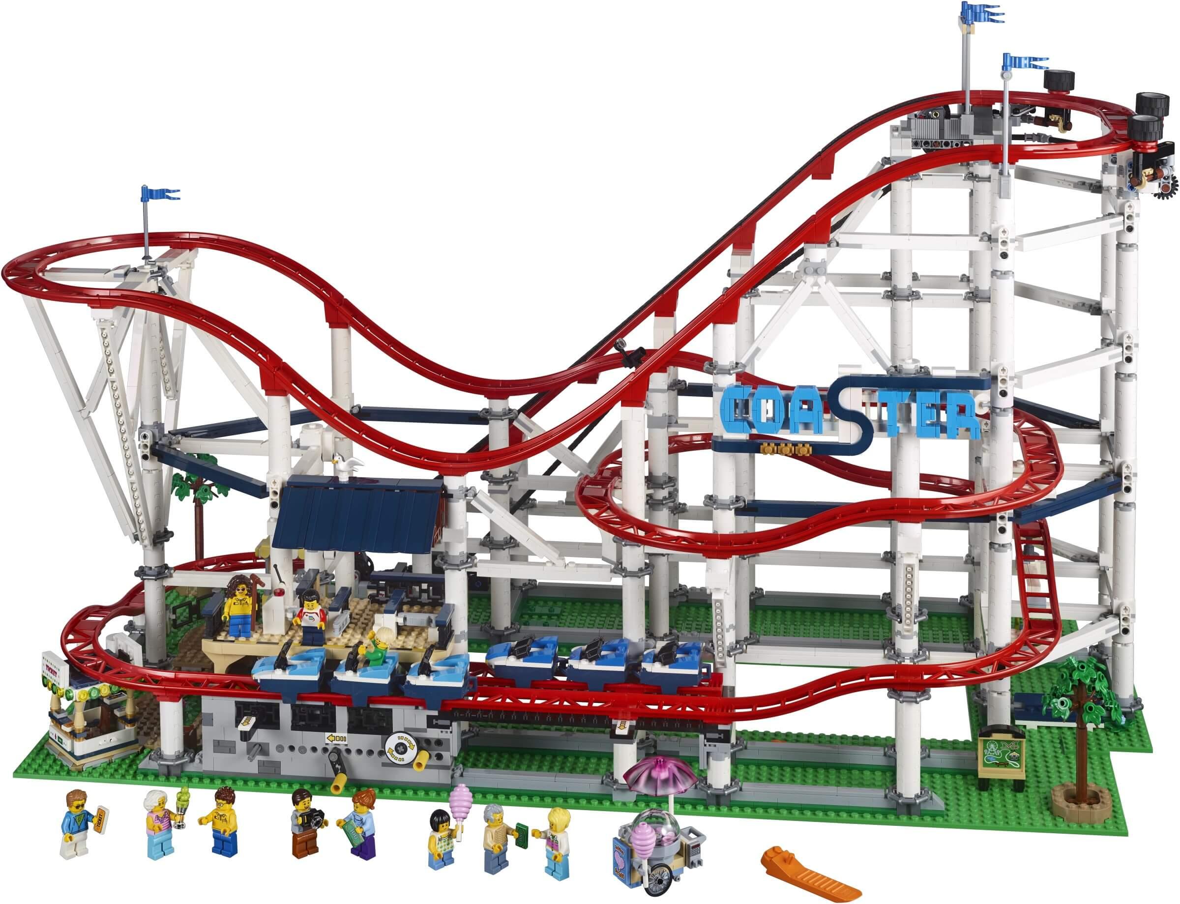 Mua đồ chơi LEGO 10261 - LEGO Creator Expert 10261 - Tàu Lượn Siêu Tốc gắn Động Cơ (LEGO 10261 Roller Coaster)