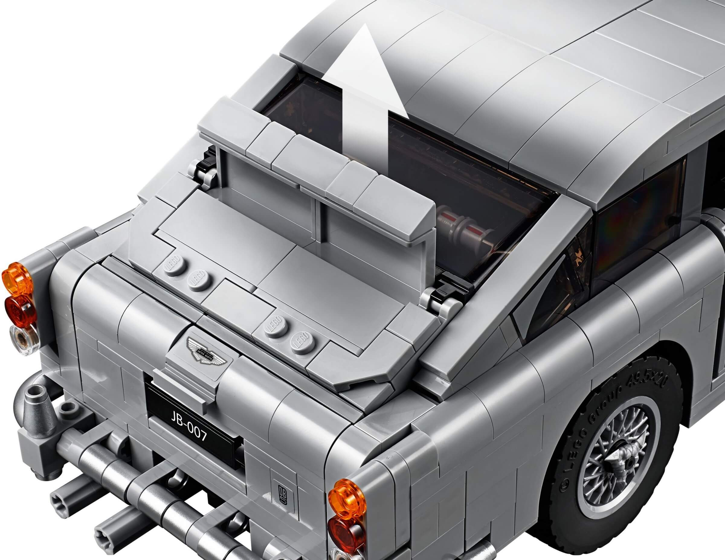 Mua đồ chơi LEGO 10262 - LEGO Creator Expert 10262 - Siêu Xe Aston Martin DB5 trong phim James Bond (LEGO 10262 James Bond Aston Martin DB5)