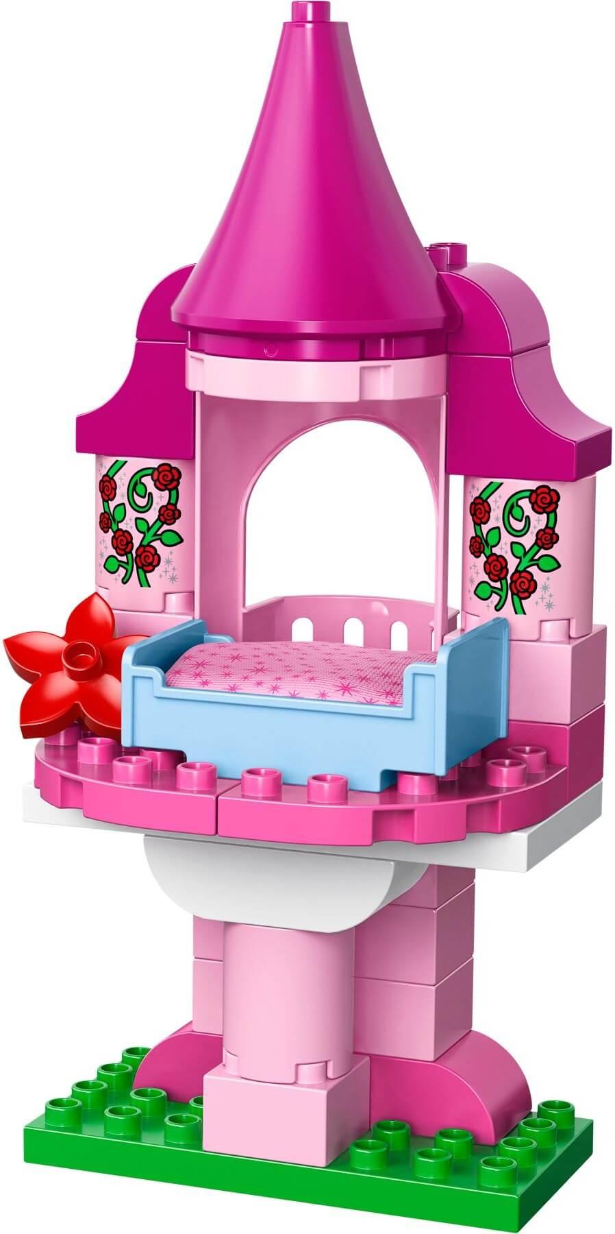 Mua đồ chơi LEGO 10542 - LEGO DUPLO 10542 - Lâu đài của nàng công chúa ngủ trong rừng (LEGO DUPLO Sleeping Beauty's Fairy Tale 10542)