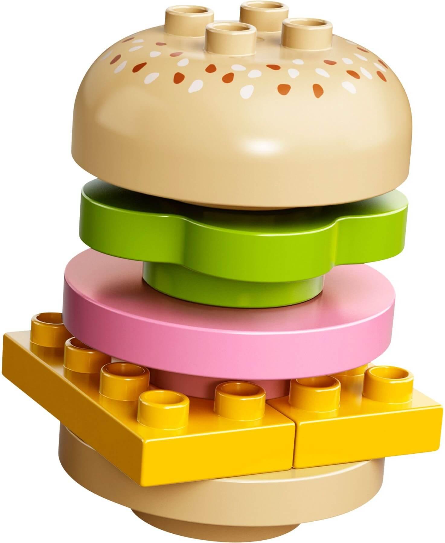 Mua đồ chơi LEGO 10566 - LEGO DUPLO 10566 - Bộ lắp ráp mô hình Thức Ăn của Bé (LEGO DUPLO Creative Picnic 10566)