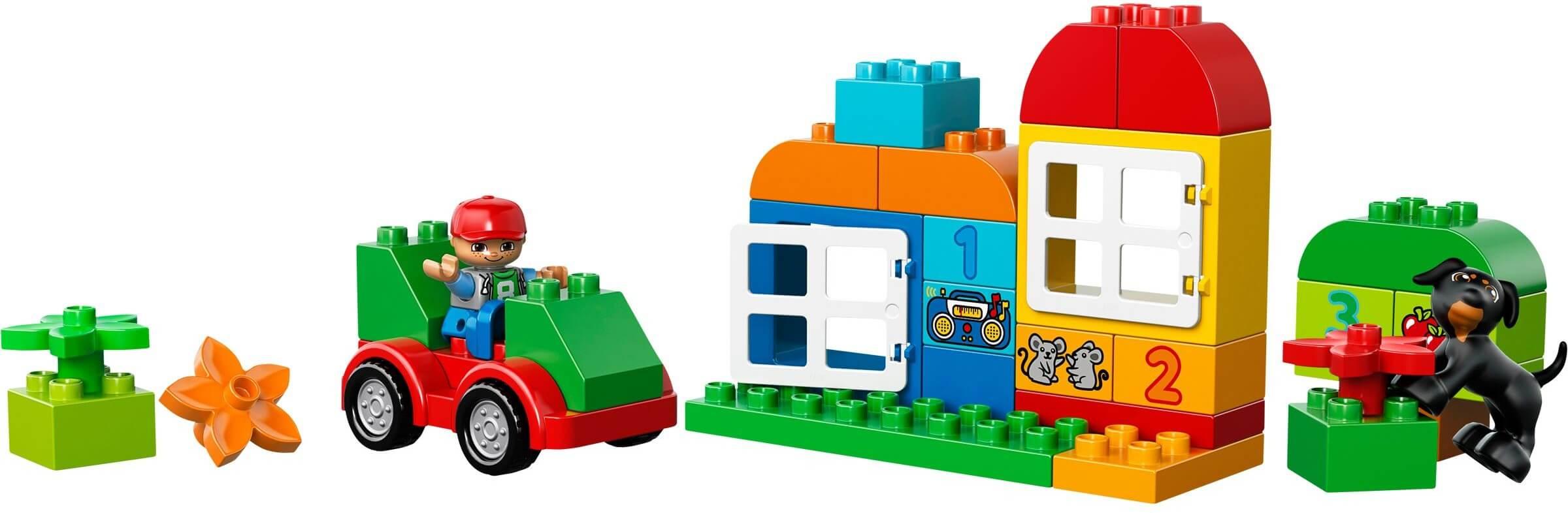 Mua đồ chơi LEGO 10572 - LEGO DUPLO 10572 - Thùng gạch LEGO DUPLO lớn 65 mảnh ghép (LEGO DUPLO All-In-One Box of Fun 10572)